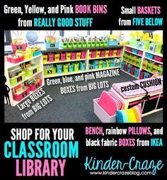 Classroom Library Organization – Simplified