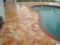 Miami Gold Travertine is where you can find those unique stone for your pool or patio project. Gold Travertine looks amazing. Call us at 305392 5556 or at www.miamitravertine.com and we can help you get this amaizing pool. We export or ship everywhere in USA.