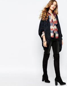Image 4 - Pepe Jeans - Cardigan en jacquard bicolore