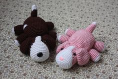 Cute Amigurumi Dog PATTERN Crochet Dog Pdf by TinyAmigurumi