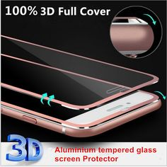 2016 Clear Front Screen Protector for iPhone 6 6s&6s Plus 7&7 plus Tempered Glass 3D Full Curved Edge Titanium Protective Film #>=#>=#>=#>=#> Click on the pin to check out discount price, color, size, shipping, etc. Save and like it!
