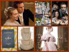 Les Miserables themed wedding