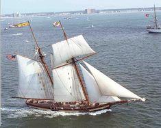Pride of Baltimore II, replica topsail schooner
