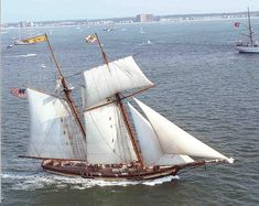 Pride of Baltimore II, replica topsail schooner
