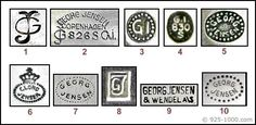 Georg Jensen Silver Marks - Encyclopedia of Silver Marks, Hallmarks & Makers' Marks