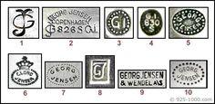 Georg Jensen Silver Marks - Encyclopedia of Silver Marks, Hallmarks & Makers' Marks