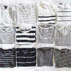 E você quer simplesmente matar alguém quando dizem que roupa listrada é tudo igual porque é só olhar estas lindezas para saber que não é verdade!   18 imagens que vão te fazer sentir coisas se você adora roupas listradas