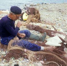 """""""Elderly Fisherman on Elba"""" - Photographer Unknown"""