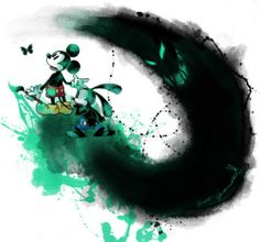 The Art of Disney:  Mickey and Oswald the Lucky Rabbit