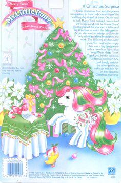 My Little Pony - Merry Treats - the Christmas Pony