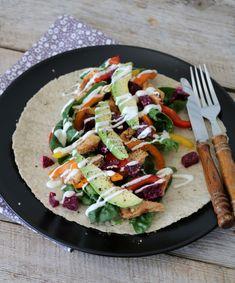 Tzatziki, Caprese Salad, Quinoa, Feta, Bacon, Pizza, Healthy Recipes, Foodies, Drink