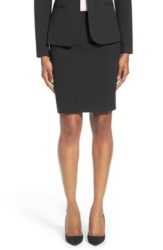 Free shipping and returns on Halogen Suit Skirt (Regular & Petite) at Nordstrom.com. A timeless pencil skirt is cut from polished suiting fabric and designed with paneled construction and raised-seam details that accentuate the slimming flattery.