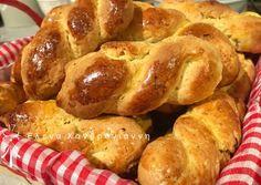 Greek Desserts, Greek Cooking, Pretzel Bites, Sausage, French Toast, Cookies, Bread, Breakfast, Sweet