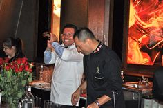 More than 1,500 cocktails were served by Junior Merino and The Liquid Team at the Symrise party in Las Vegas 2012
