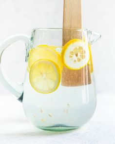 Lemon Water is excellent for the immune system, detoxifying the liver and body, rehydrating, and even helping with nausea. Squeeze half a lemon into 500ml of Love H2O every morning first thing. Make more to drink throughout the day.