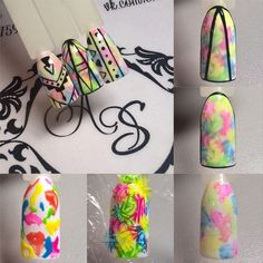 68 ideas for fails art diy sharpie Nail Art Diy, Diy Nails, Cute Nails, Spring Nails, Summer Nails, Nail Techniques, Abstract Nail Art, Geometric Nail, Nail Patterns