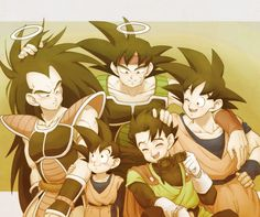 The Bardock Family.