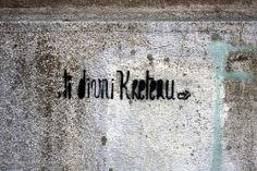 Beogradski grafiti.: Ti divni kretenu #Beograd #Belgrade #Graffiti #Grafiti #StreetArt