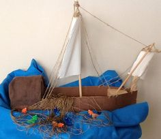 Fishing boat visual for The 12 Disciples of Jesus