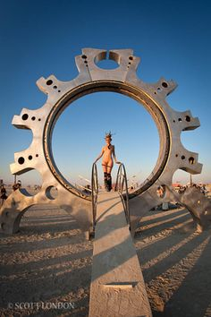 Burning Man - a City that Can Only be Found Once a Year