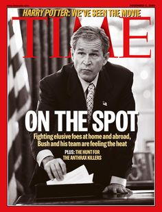| TIME Magazine Cover: George W. Bush - Nov. 5, 2001 - George W. Bush ...