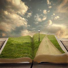 escape through the book...