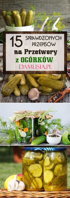 Polish Recipes, Polish Food, Allrecipes, Pickles, Cucumber, Curry, Food And Drink, Vegetables, Preserves