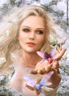 Queen of Fairies...#fantasy #fairies #faeries #art