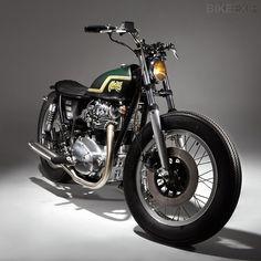 Yamaha XS650 bobber