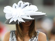 white on black -- 2011 Kentucky Derby Hats | ThePostGame