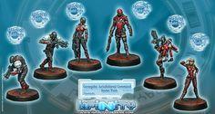 Infinity: the Game  Corregidor Jurisdictional Command Starter