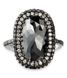 Lorraine Efune black diamonds jewelry