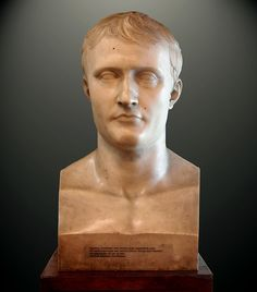 Portrait of Napoleon. (Copy of Antonio Canova).
