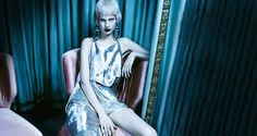 wantering-blog:      Silver Lining Look radiant in shimmering statement pieces