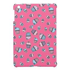 Cupacke Fun Pattern Cover For The iPad Mini. By trastofino.