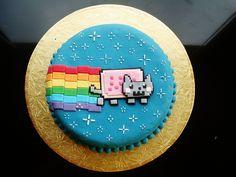 nyan cat cake - Google Search