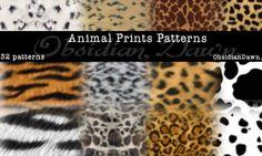Animal Prints PS Patterns
