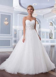 Sweetheart White Ivory Lace Wedding Dresses