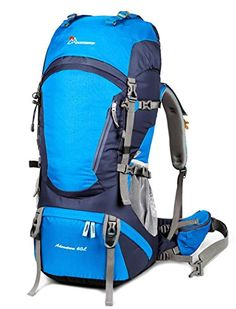 a5611bdcc6 Mountaintop Water-resistant Hiking Backpack Internal Frame Backpack for  Outdoor Hiking Travel Climbing Camping Mountaineering with Rain    Quickly  view this ...
