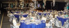 Corporate Event Planner, this Event was held at Beausejour, fabulous for larger corporate parties and events. Corporate Event Planner, Corporate Events, Paris Prom Theme, Balloon Display, Party Themes, Themed Parties, Party Ideas, Table Centers, Fundraising Events