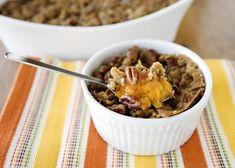 Ruth's Chris Sweet Potatoes recipe - #sweetpotato #casserole