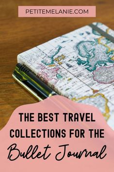 The Bullet Journal collections you absolutely need to plan your next vacation – Petite Mélanie - New Ideas Making A Bullet Journal, Bullet Journal Travel, Bullet Journal For Beginners, Bullet Journal How To Start A, Bullet Journal School, Bullet Journal Spread, Bullet Journal Layout, Bullet Journal Ideas Pages, Bullet Journal Inspiration