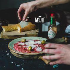 Beef Carpaccio #meatrestaurant #steakhouse #steaks #azerbaijan #baku #restaurants #food #cuisine #beef #veal #carpaccio