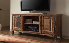 Reclaimed Wood TV Console