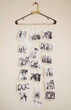Te compartimos 5 originales ideas para decorar tu hogar usando las fotografías familiares.
