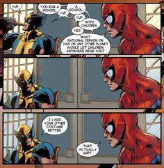 Spiderman and Wolverine