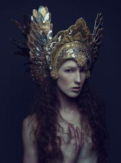 Photography: Daniel Jung Photography ^Model: Sabrina Rucker ^Hair/Makeup: Sabrina Rucker ^Headdress: Miss G Designs