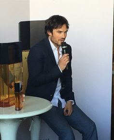 Ian Somerhalder at Azzaro Pour Homme - Chile. May 6, 2015
