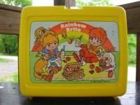Rainbow Bright lunch box! I had this one!