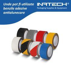 Unde pot fi utilizate benzile adezive antialunecare